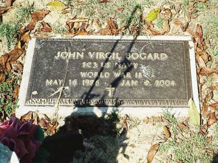 BOGARD, JOHN VIRGIL - Meigs County, Ohio   JOHN VIRGIL BOGARD - Ohio Gravestone Photos
