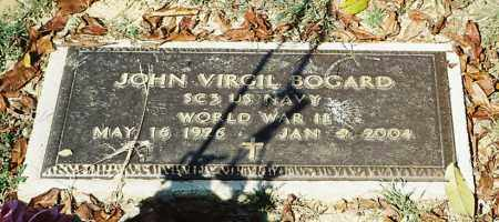 BOGARD, JOHN VIRGIL - Meigs County, Ohio | JOHN VIRGIL BOGARD - Ohio Gravestone Photos