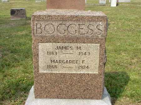 BOGGESS, JAMES M. - Meigs County, Ohio | JAMES M. BOGGESS - Ohio Gravestone Photos