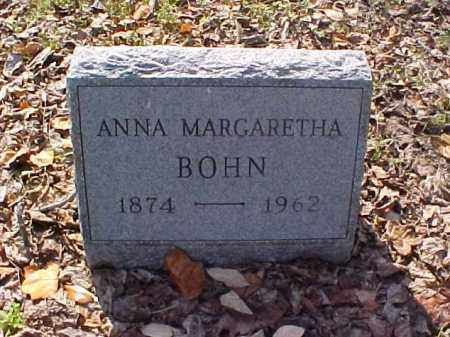 BOHN, ANNA MARGARETHA - Meigs County, Ohio   ANNA MARGARETHA BOHN - Ohio Gravestone Photos