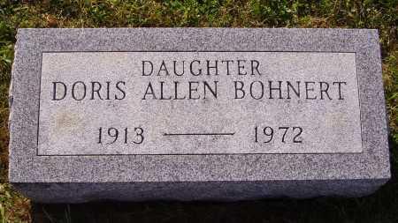 BOHNERT, DORIS - Meigs County, Ohio | DORIS BOHNERT - Ohio Gravestone Photos