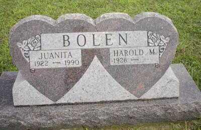 BOLEN, HAROLD - Meigs County, Ohio | HAROLD BOLEN - Ohio Gravestone Photos