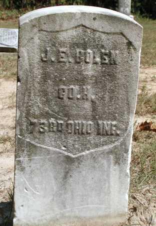 BOLEN, J.E. - Meigs County, Ohio | J.E. BOLEN - Ohio Gravestone Photos