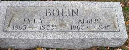 BOLIN, ALBERT - Meigs County, Ohio   ALBERT BOLIN - Ohio Gravestone Photos