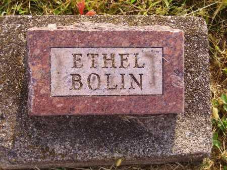 BOLIN, ETHEL - Meigs County, Ohio   ETHEL BOLIN - Ohio Gravestone Photos