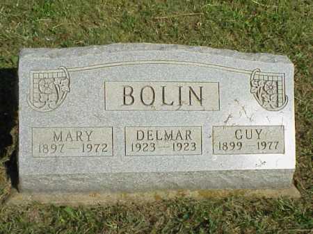 BOLIN, DELMAR - Meigs County, Ohio | DELMAR BOLIN - Ohio Gravestone Photos