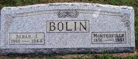 BOLIN, SARAH JANE - Meigs County, Ohio | SARAH JANE BOLIN - Ohio Gravestone Photos