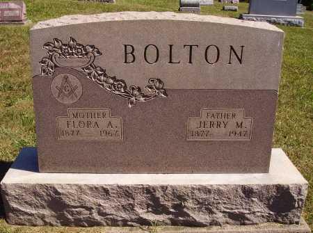 GRAHAM BOLTON, FLORA A. - Meigs County, Ohio   FLORA A. GRAHAM BOLTON - Ohio Gravestone Photos