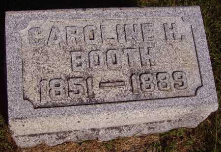 BOOTH, CAROLINE H. - Meigs County, Ohio | CAROLINE H. BOOTH - Ohio Gravestone Photos