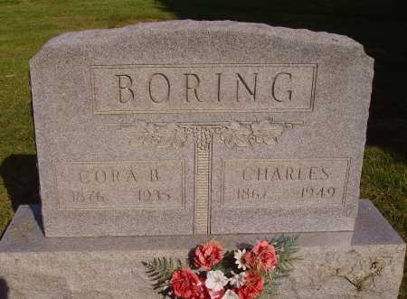 BORING, CORA BELLE - Meigs County, Ohio | CORA BELLE BORING - Ohio Gravestone Photos