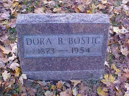 BOSTIC, DORA B. - Meigs County, Ohio | DORA B. BOSTIC - Ohio Gravestone Photos