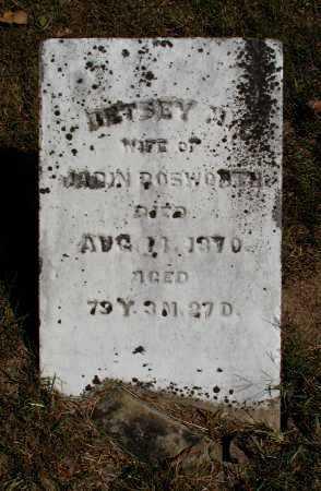 BOSWORTH, BETSEY M. - Meigs County, Ohio | BETSEY M. BOSWORTH - Ohio Gravestone Photos