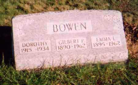 ARBAUGH BOWEN, EMMA L. - Meigs County, Ohio | EMMA L. ARBAUGH BOWEN - Ohio Gravestone Photos