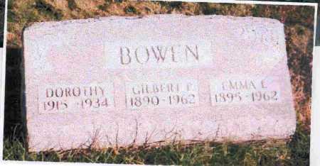 BOWEN, EMMA L.. - Meigs County, Ohio | EMMA L.. BOWEN - Ohio Gravestone Photos