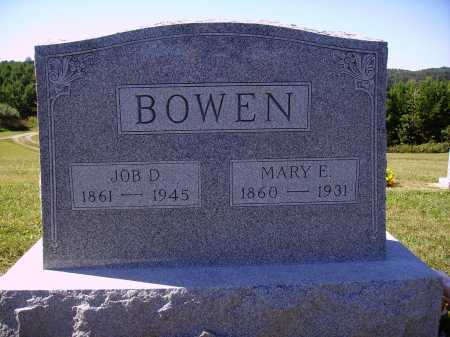 CHANEY BOWEN, MARY E. - Meigs County, Ohio | MARY E. CHANEY BOWEN - Ohio Gravestone Photos