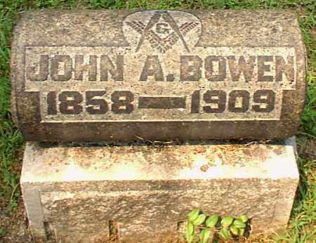 BOWEN, JOHN A. - Meigs County, Ohio | JOHN A. BOWEN - Ohio Gravestone Photos