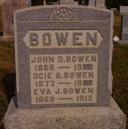 BOWEN, EVA J. - Meigs County, Ohio | EVA J. BOWEN - Ohio Gravestone Photos
