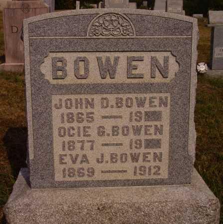 BOWEN, JOHN D. - Meigs County, Ohio | JOHN D. BOWEN - Ohio Gravestone Photos