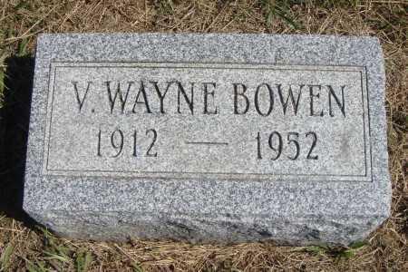 BOWEN, VERNON WAYNE - Meigs County, Ohio | VERNON WAYNE BOWEN - Ohio Gravestone Photos