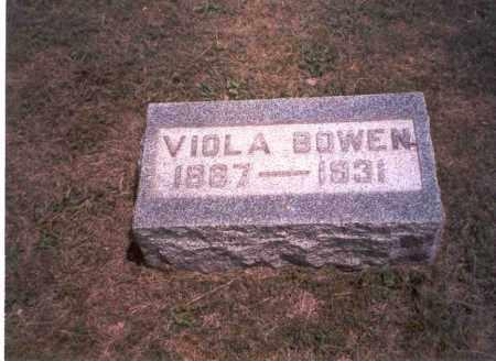 CUMMINGS BOWEN, VIOLA - Meigs County, Ohio | VIOLA CUMMINGS BOWEN - Ohio Gravestone Photos