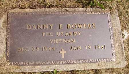 BOWERS, DANNY E. - MILITARY - Meigs County, Ohio | DANNY E. - MILITARY BOWERS - Ohio Gravestone Photos