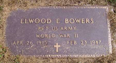 BOWERS, ELWOOD E. - MILITARY - Meigs County, Ohio | ELWOOD E. - MILITARY BOWERS - Ohio Gravestone Photos
