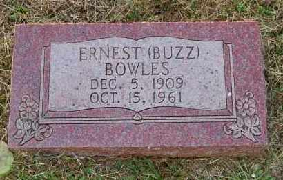 BOWLES, ERNEST (BUZZ) - Meigs County, Ohio | ERNEST (BUZZ) BOWLES - Ohio Gravestone Photos