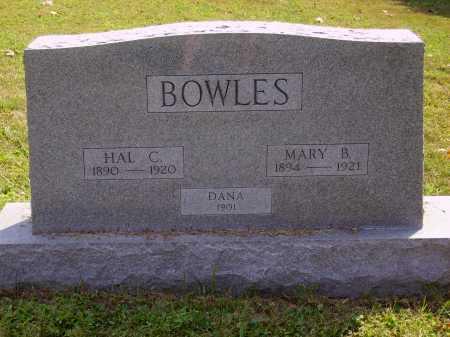 BOWLES, HAL C. - Meigs County, Ohio | HAL C. BOWLES - Ohio Gravestone Photos