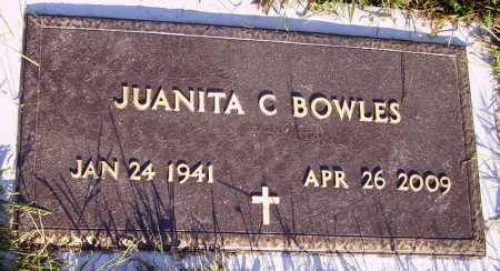 BOWLES, JUANITA - Meigs County, Ohio | JUANITA BOWLES - Ohio Gravestone Photos