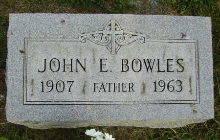 BOWLES, JOHN E. - Meigs County, Ohio   JOHN E. BOWLES - Ohio Gravestone Photos