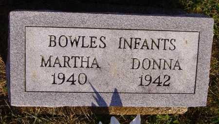 BOWLES, MARTHA - Meigs County, Ohio | MARTHA BOWLES - Ohio Gravestone Photos
