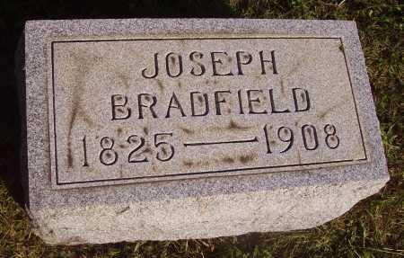 BRADFIELD, JOSEPH - Meigs County, Ohio | JOSEPH BRADFIELD - Ohio Gravestone Photos