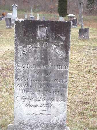 BRADFIELD, JOHN 2ND - Meigs County, Ohio | JOHN 2ND BRADFIELD - Ohio Gravestone Photos