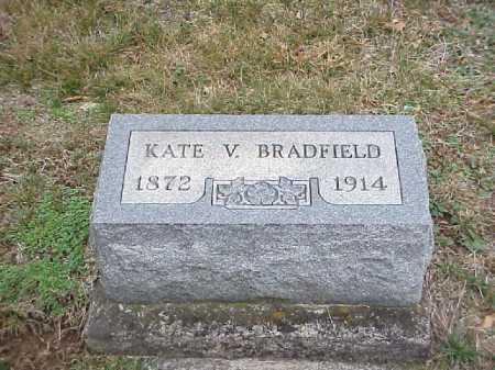 BRADFIELD, KATE V. - Meigs County, Ohio | KATE V. BRADFIELD - Ohio Gravestone Photos