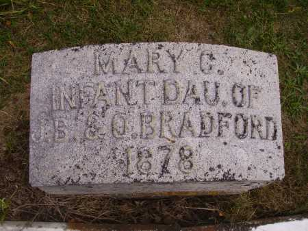 BRADFORD, MARY - Meigs County, Ohio | MARY BRADFORD - Ohio Gravestone Photos