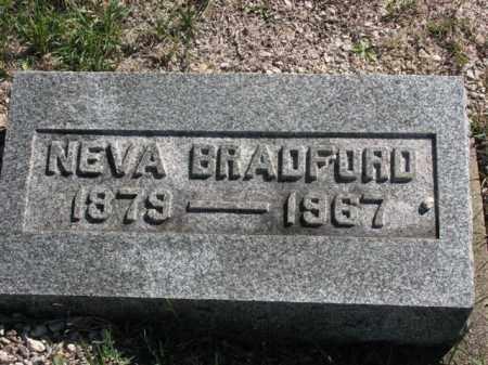 BRADFORD, NEVA - Meigs County, Ohio   NEVA BRADFORD - Ohio Gravestone Photos
