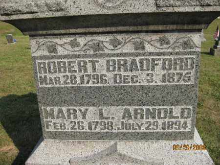 BRADFORD, ROBERT - Meigs County, Ohio | ROBERT BRADFORD - Ohio Gravestone Photos