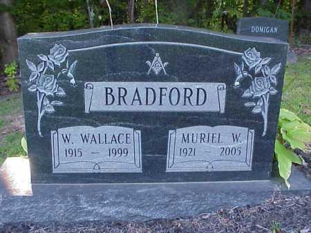 BRADFORD, W. WALLACE - Meigs County, Ohio | W. WALLACE BRADFORD - Ohio Gravestone Photos