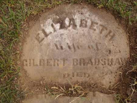 BRADSHAW, ELIZABETH - VIEW 3 - Meigs County, Ohio | ELIZABETH - VIEW 3 BRADSHAW - Ohio Gravestone Photos