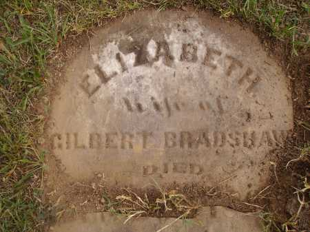 DAWSON BRADSHAW, ELIZABETH - VIEW 3 - Meigs County, Ohio | ELIZABETH - VIEW 3 DAWSON BRADSHAW - Ohio Gravestone Photos