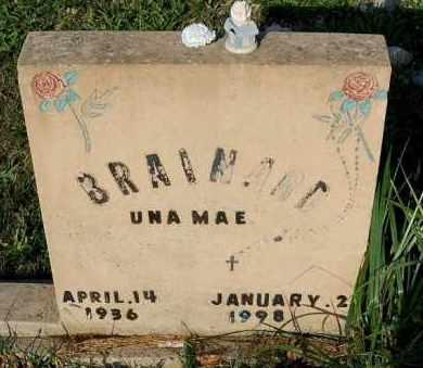 BRAINARD, UNA MAE - Meigs County, Ohio | UNA MAE BRAINARD - Ohio Gravestone Photos