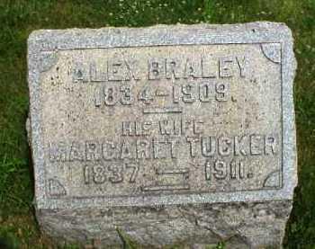 BRALEY, ALEX - Meigs County, Ohio | ALEX BRALEY - Ohio Gravestone Photos