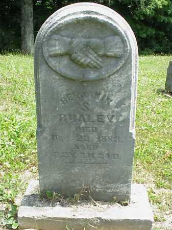 BRALEY, BENJAMIN S. - Meigs County, Ohio | BENJAMIN S. BRALEY - Ohio Gravestone Photos