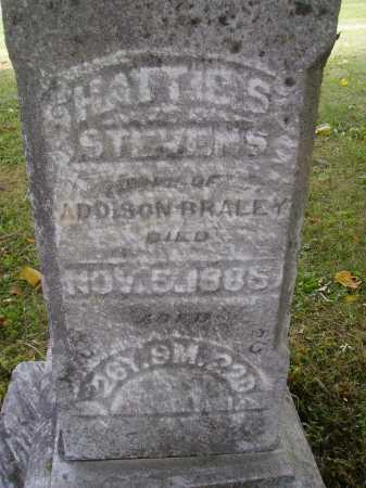 BRALEY, HARRIET SARILDA - CLOSE VIEW - Meigs County, Ohio | HARRIET SARILDA - CLOSE VIEW BRALEY - Ohio Gravestone Photos