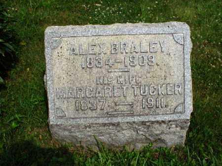 BRALEY, MARGARET - Meigs County, Ohio | MARGARET BRALEY - Ohio Gravestone Photos