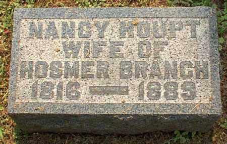 HOUPT BRANCH, NANCY - Meigs County, Ohio   NANCY HOUPT BRANCH - Ohio Gravestone Photos