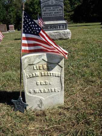 BRATTON, ADAM - OVERALL VIEW - Meigs County, Ohio | ADAM - OVERALL VIEW BRATTON - Ohio Gravestone Photos
