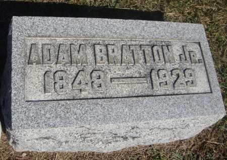 BRATTON, ADAM, JR - Meigs County, Ohio   ADAM, JR BRATTON - Ohio Gravestone Photos