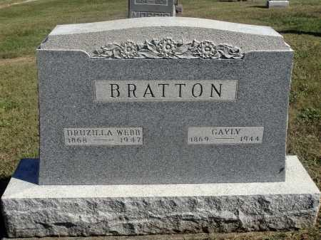 BRATTON, GAYLY - Meigs County, Ohio | GAYLY BRATTON - Ohio Gravestone Photos