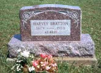 BRATTON, HARVEY - Meigs County, Ohio | HARVEY BRATTON - Ohio Gravestone Photos